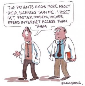 Patient empowerment comic