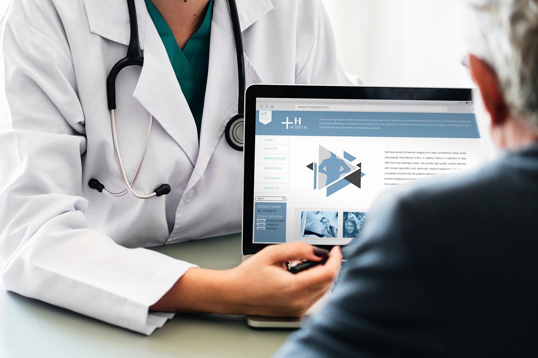 Online dokter stelt de verkeerde diagnose